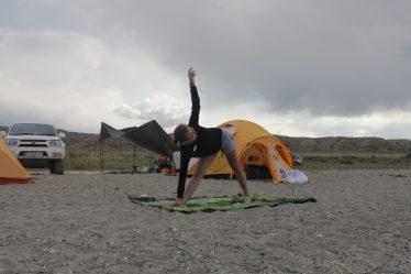 Йога в Кыргызстане